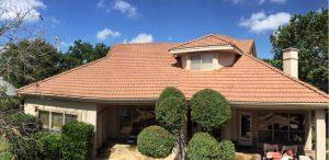 Cleaned up tile roof in San Antonio TX